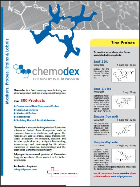 Chemodex Product Flyer 2014